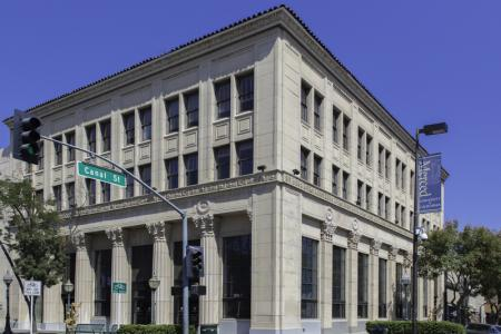 Image of UC Merced's Mondo Building in downtown Merced.